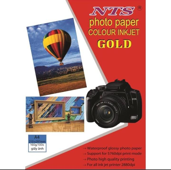 Mua Giấy in ảnh NTS A4 1 mặt 160gsm