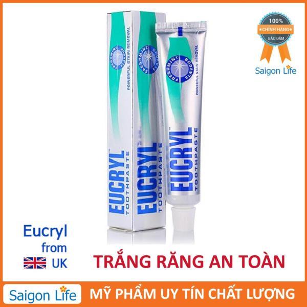 Kem đánh răng tẩy trắng Eucryl 62g