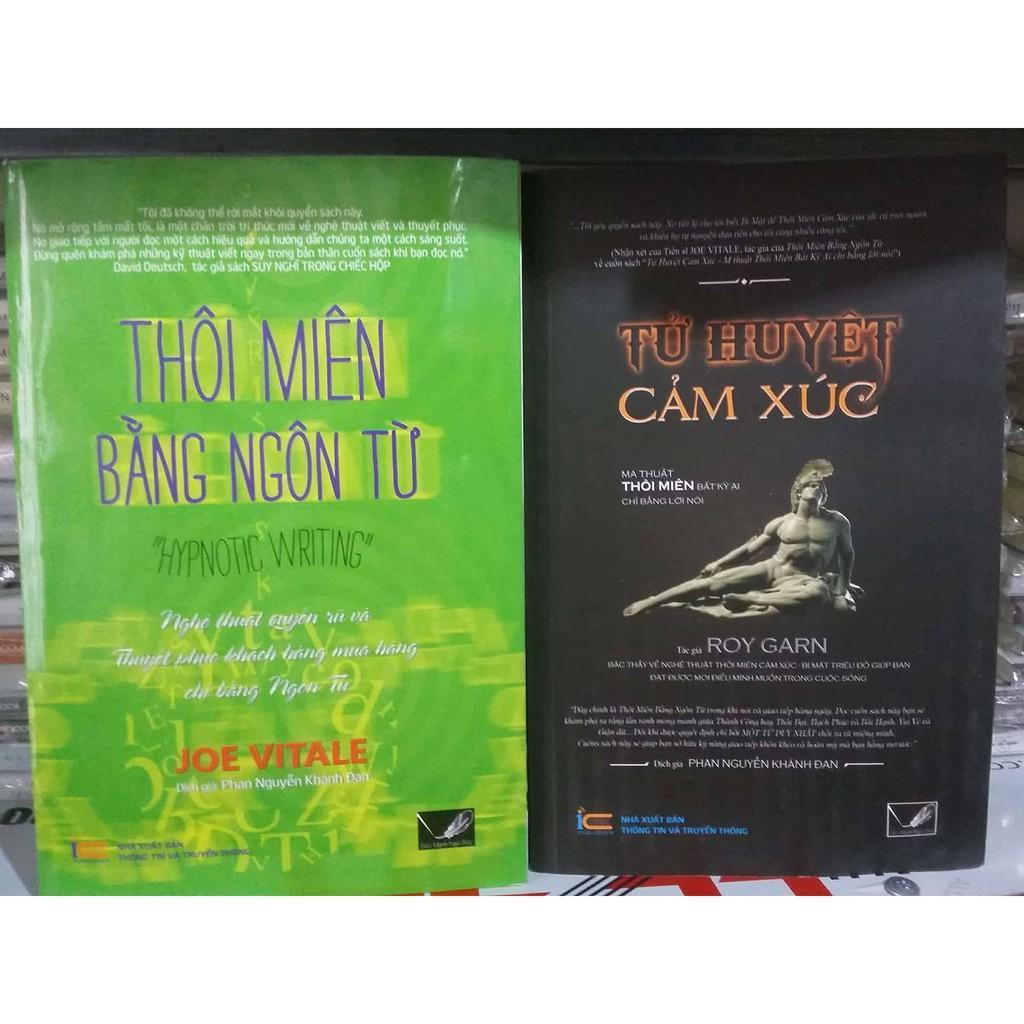 Mua [Sách Thật ] Combo Sách Hay Thôi Miên Bằng Ngôn Từ & Tử Huyệt Cảm Xúc MBOOK
