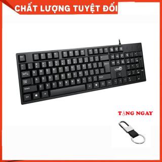 Bàn phím máy tính có dây cao cấp - Tặng móc đeo khóa (BH 3 THÁNG) thumbnail