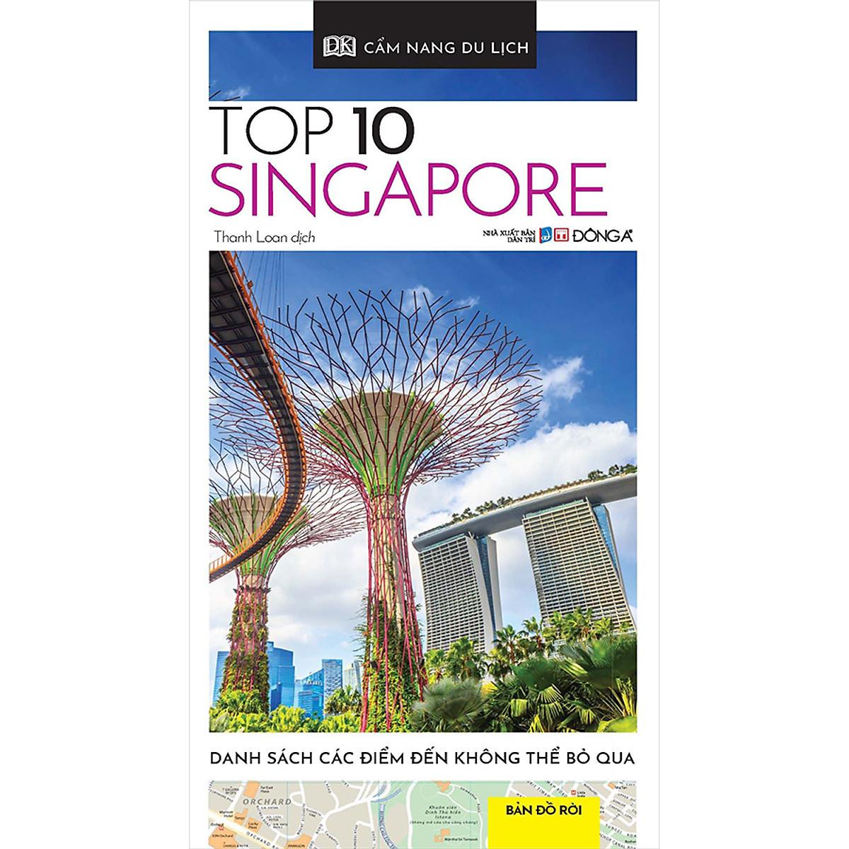 Mua Cẩm Nang Du Lịch - Top 10 Singapore