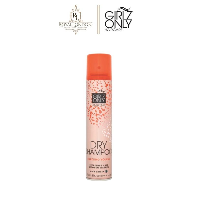 Dầu gội khô Girlz Only Dry Shampoo Dazzling Volume 200ml