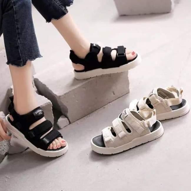 Dép quai hậu , sandal nữ quai hậu học sinh êm chân dễ đi quai dán kiểu dáng hàn quốc hàng cao cấp giá rẻ