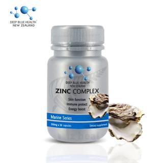 Viên Uống Kẽm Deep Blue Health Zinc Complex tăng đề kháng, trị mụn (60 viên) thumbnail