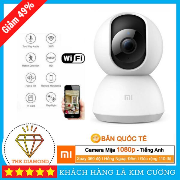 Camera Xiaomi Camera ip xoay 360° Xiaomi Mijia 1080p 2018 Quốc Tế
