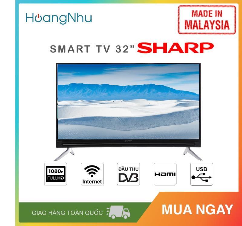 Bảng giá Smart TV Sharp 32 inch Kết nối Internet Wifi LC-32SA4500X (HD, Hệ điều hành Easy Smart, Truyền hình KTS, màu đen) - Hàng Malaysia - Bảo hành toàn quốc 2 năm