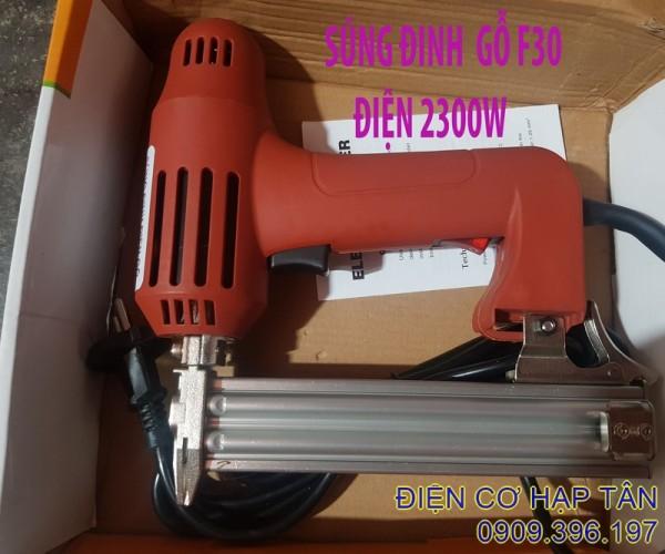 SÚNG BẮN ĐINH GỖ F30  DÙNG ĐIỆN 220V -2300W