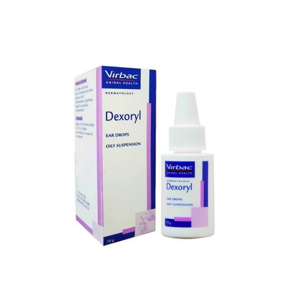 Dung dịch viêm tai chó mèo - Virbac Dexoryl, sản phẩm tốt, chất lượng cao, cam kết như hình, an toàn cho sức khỏe thú cưng
