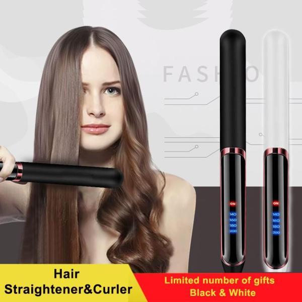 Máy kẹp tóc, duỗi tóc đa năng PR809 HOT 2020-Máy ép duỗi tóc, uốn xoăn tóc Hàn Quốc 2in1