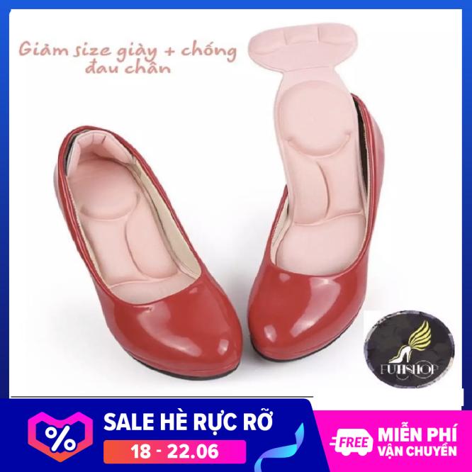 Miếng lót giảm size khi giày bị rộng chống đau chân giá rẻ