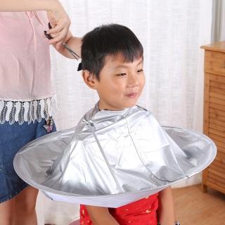 Áo choàng cắt tóc có thể gấp gọn - Áo choàng hớt tóc chuyên nghiệp - Áo choàng cắt tóc có khay hứng thumbnail