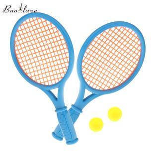 Baoblaze 2 Cái Vợt Tennis Trẻ Em Kèm & Bóng, Đồ Chơi Hoạt Động Giải Trí Thể Thao Trong Nhà Ngoài Trời Bãi Biển Chơi Quà Cho Người Mới Bắt Đầu 3-7 Tuổi thumbnail