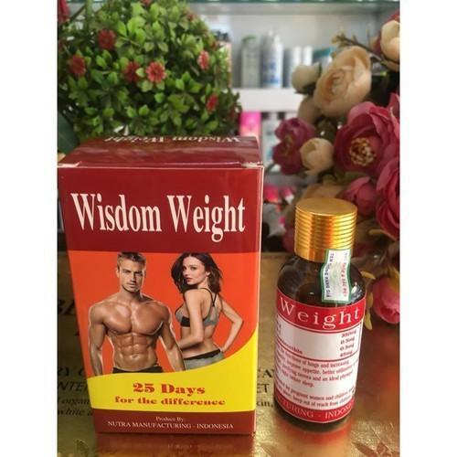 Vitamin tăng cân wisdom weight - Indonesia