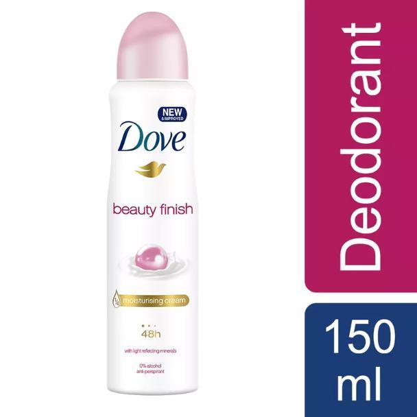 Xịt Khử Mùi Dove Beauty Finish Moisturising Cream 150ml cao cấp