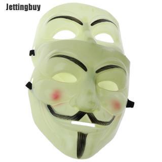 Jettingbuy Hai cái mặt nạ thời trang V for Vendetta kích thước 196 178mm thích hợp hóa trang Halloween - INTL thumbnail