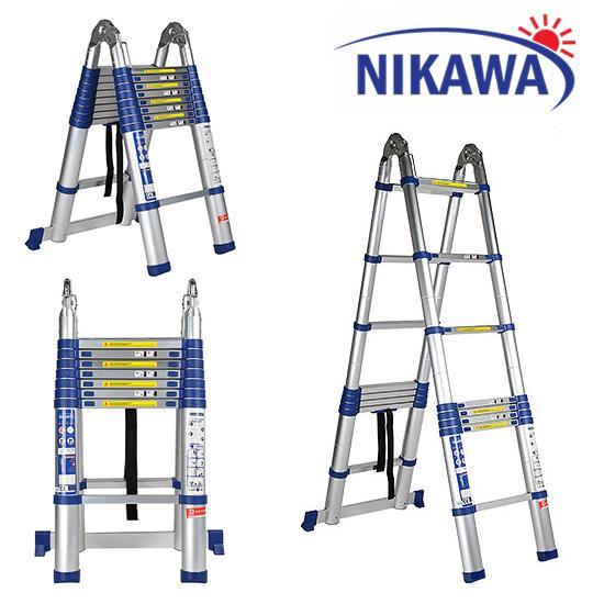 Thang nhôm đa năng  5,6m NIKAWA-Nhật Bản NK-56AI New.