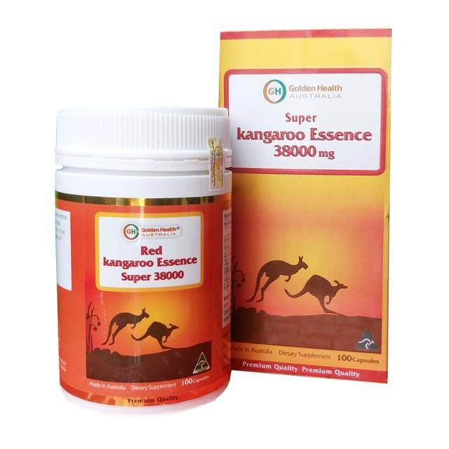 Sinh lý nam Golden Health Red Kangaroo Essence Super 38000mg
