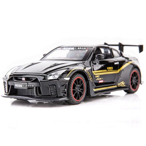 Xe mô hình kim loại Nissan GTR R35 tỷ lệ 1:32