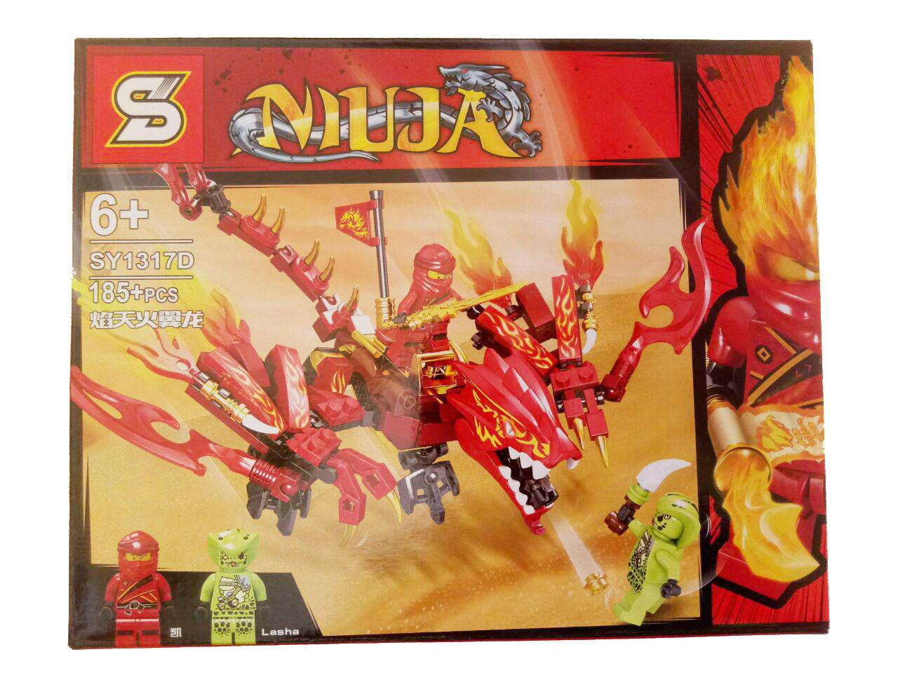 Lego Ninja Go Cuỡi Rồng Cực Chất SY1317 Khuyến Mại Hot