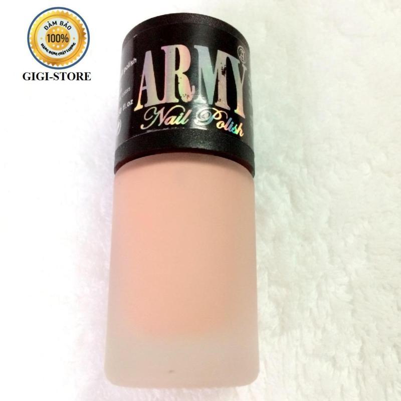 Sơn móng Army Hồng nude 15ml