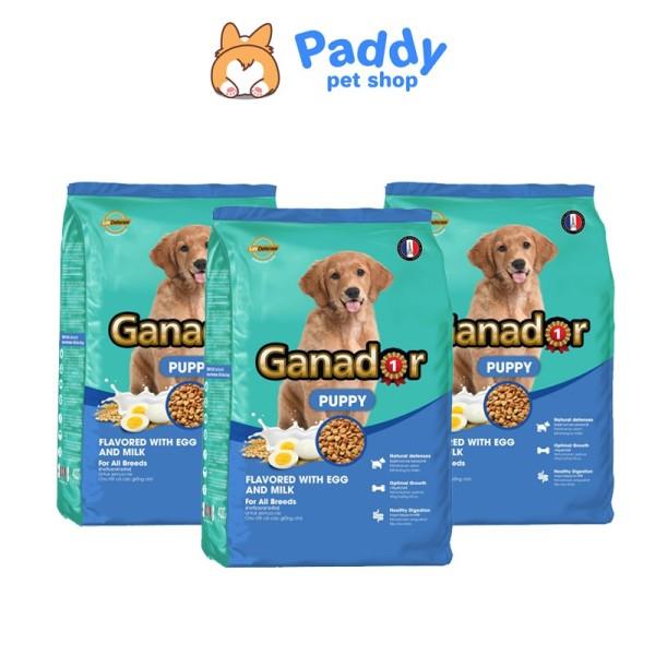 [400g] Hạt Cho Chó Con Vị Trứng Sữa - Ganador Puppy EGG & MILK