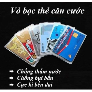 5 Túi Đựng Thẻ Căn Cước Công Dân, Bằng Lái Xe, ATM, Card visit, Chứng Minh Thư Nhân Dân thumbnail