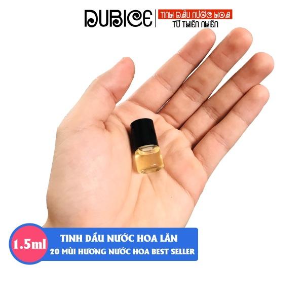 [Lưu hương 12h] Tinh dầu nước hoa Pháp dạng lăn mini 1.5ml mẫu thử hàng cao cấp 20 mùi nước hoa nam nữ cao cấp
