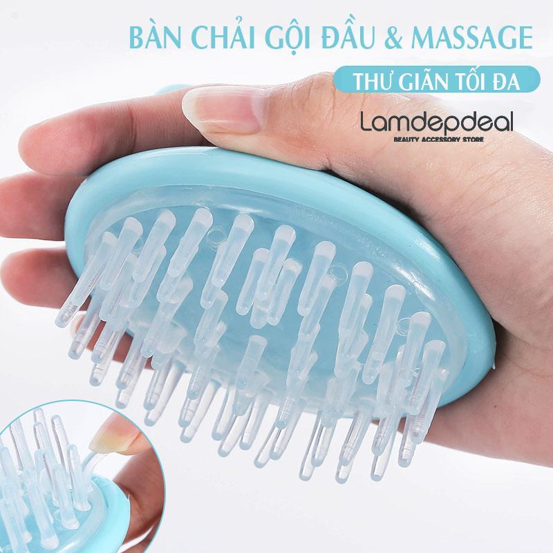 Bàn chải gội đầu kết hợp massage da đầu bằng túi khí- phụ kiện giá rẻ - Lavy Store