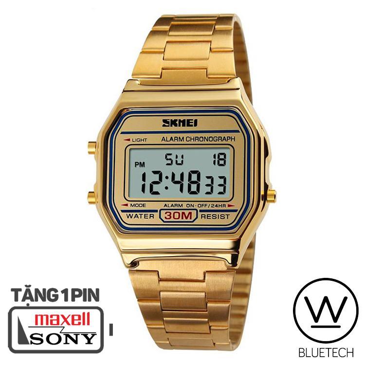 Đồng hồ Unisex SKMEI 1123 Điện Tử - Màu Vàng bán chạy