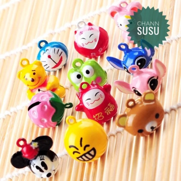 Chuông hình thú dễ thương cho thú cưng chó mèo - Channsusu Pet Shop