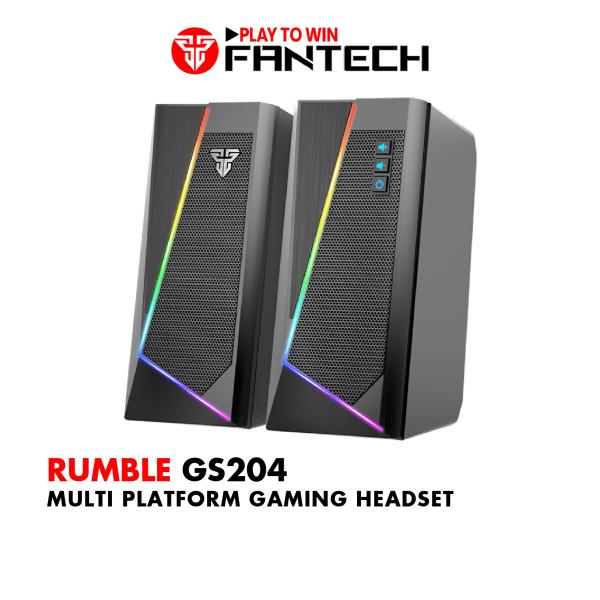 Bảng giá Loa Vi Tính Gaming FANTECH GS204 RUMBLE LED RGB 7 Chế Độ Hỗ Trợ Kết Nối Bluetooth 5.0 và AUX 3.5mm - Hãng Phân Phối Chính Thức Phong Vũ