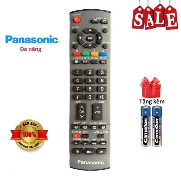 Bảng giá Điều khiển tivi Panasonic đa năng các dòng LED/LCD TV - Hàng tốt [ tặng kèm pin, BH đổi mới ]