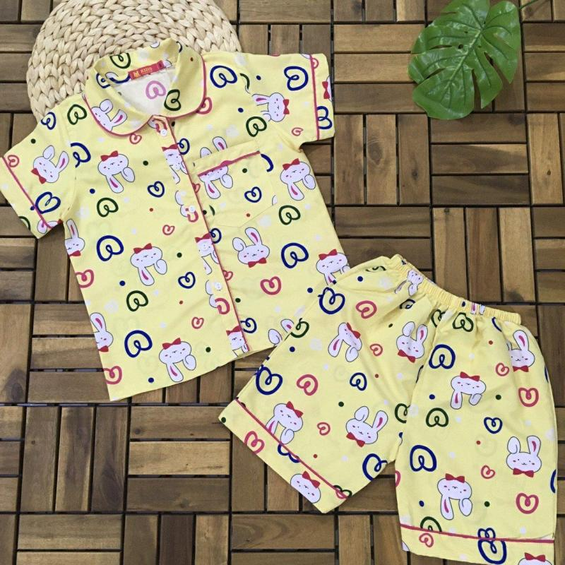Nơi bán Bộ Pijama đùi bé lớn