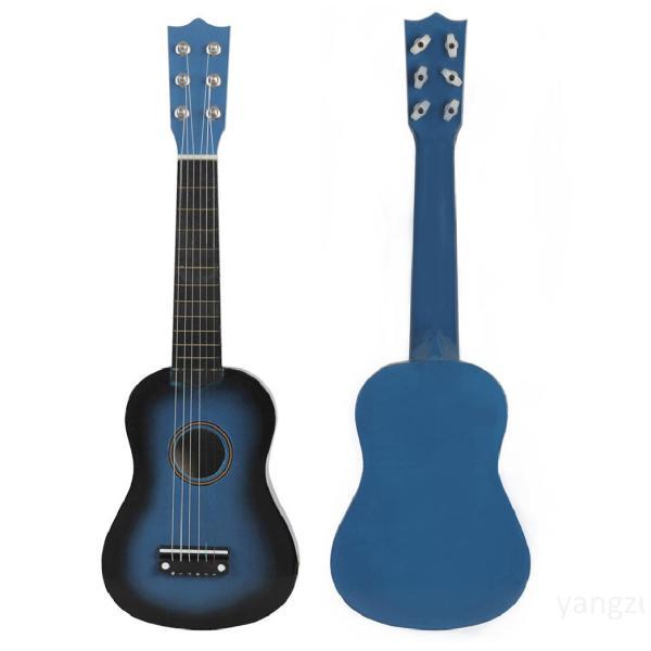 21 inch Gỗ Acoustic Guitar Cổ điển Guitar Nhạc cụ Người mới bắt đầu Âm nhạc Người yêu thích Quà tặng Trẻ emVLe53CUg