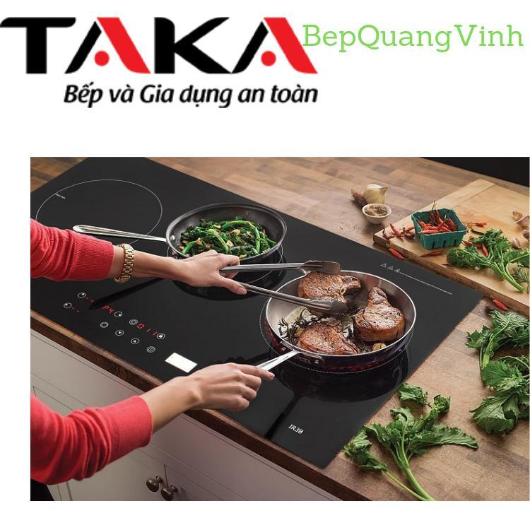 Bếp từ hồng ngoại kết hợp Taka IR3B tặng Aptomat bảo vệ bếp