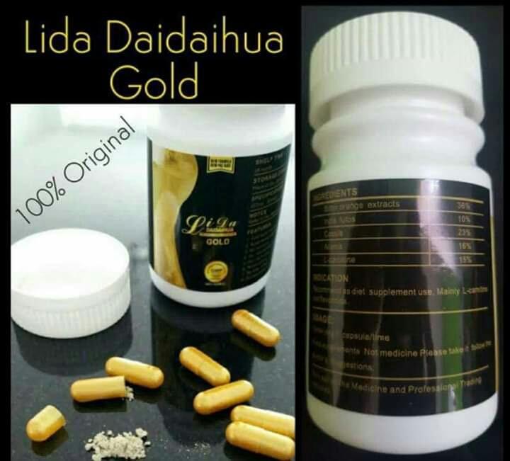 30 viên giảm cân lida gold đen