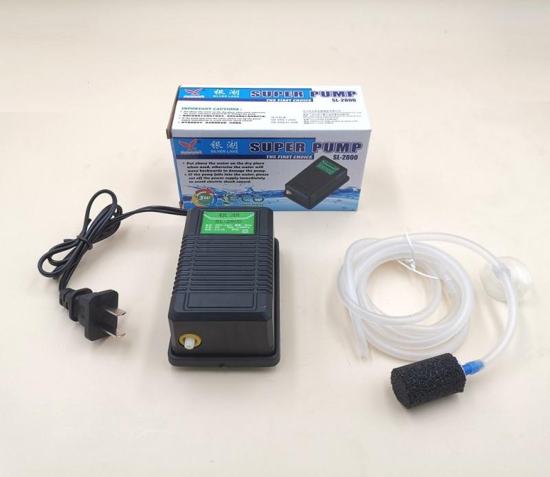 Sủi oxi mini ls-2800 1 vòi cho bể cá (tặng full đồ)