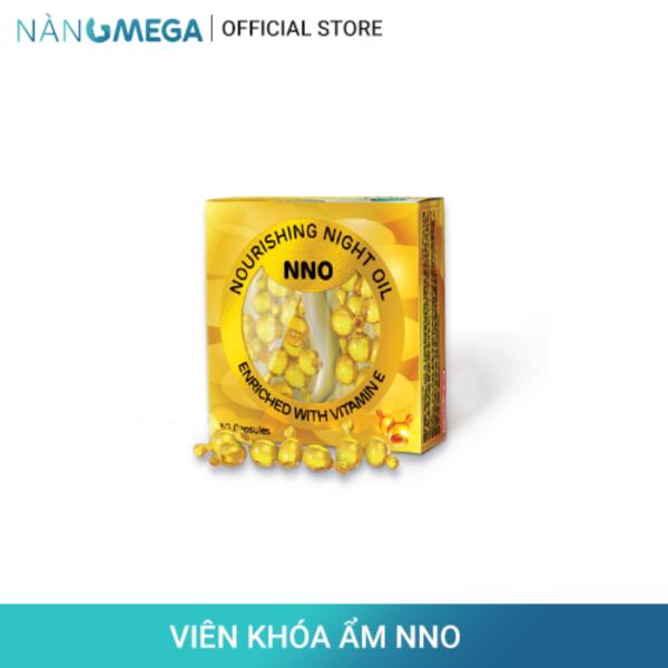 Viên khóa ẩm NNO hộp 30 viên chiết xuất dầu jojoba & vitamin E thiên nhiên giúp giảm khô sạm, tăng đàn hồi và săn chắc da