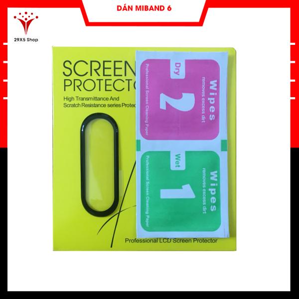 Dán màn hình Vòng đeo tay thông minh Xiaomi Mi Band 6 - Miếng dán màn hình chuẩn full màn Xiaomi Mi Band 6 -29x5Shop