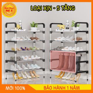 Kệ giày dép 4-5 tầng gọn gàng loại 1giá để giày 4-5 tầng tủ sắp xếp giày, thiết kế cơ động, dễ dàng để lắp hoặc tháo rời thumbnail