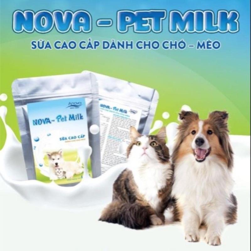 Sữa bột cao cấp cho Pet - Nova Pet milk 100g