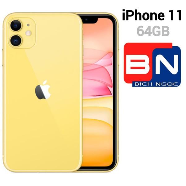 [Trả góp 0%]Điện Thoại Apple iPhone 11 bản 64GB - Hàng nhập khẩu mới 100%