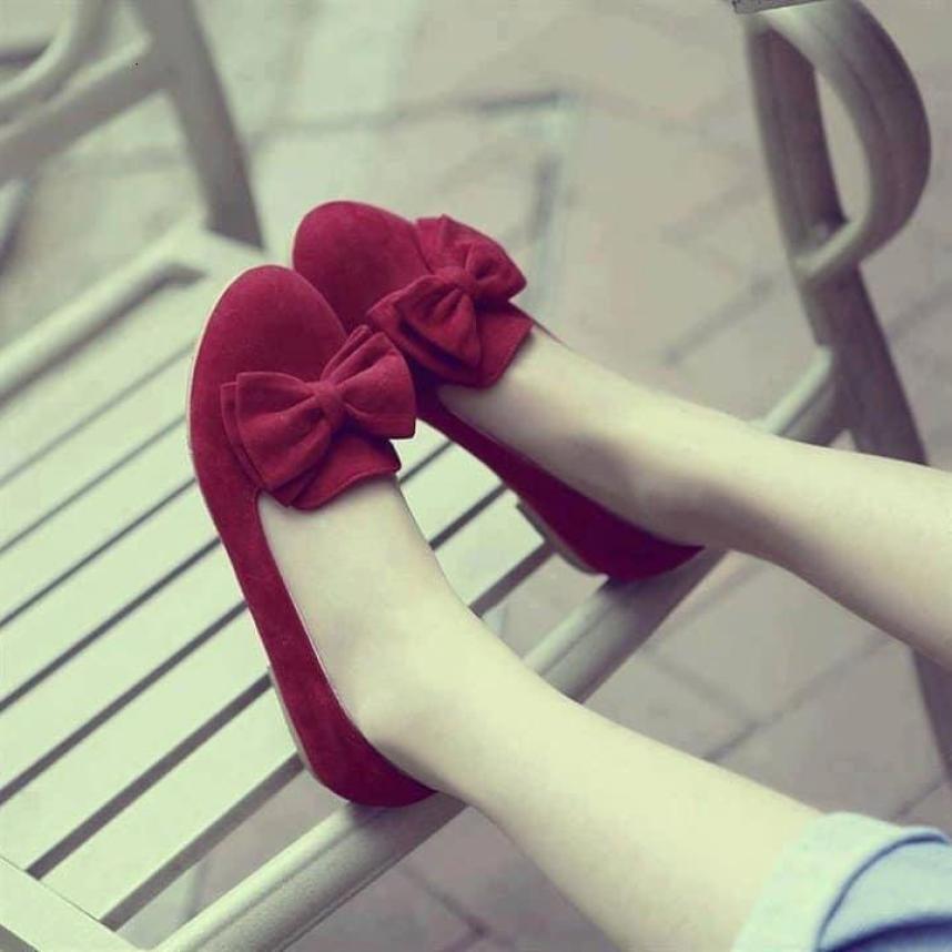 giày búp bê nơ SA2.0 Bảo hành keo giá rẻ