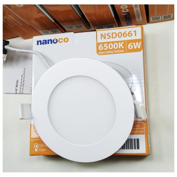 Đèn LED Downlight siêu mỏng Ø120/ 110/ 6W Nanoco - Panasonic