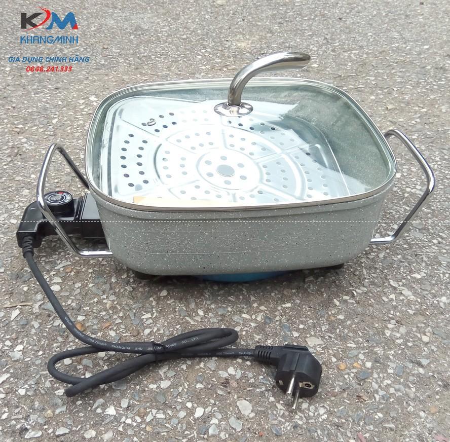 Chảo lẩu điện siêu bền Korea SS02 Bảo Hành 12Tháng
