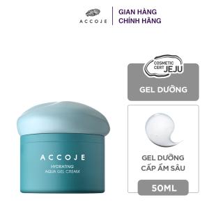 Gel dưỡng cấp ẩm sâu Accoje Hydrating Aqua Gel Cream 50ml thumbnail