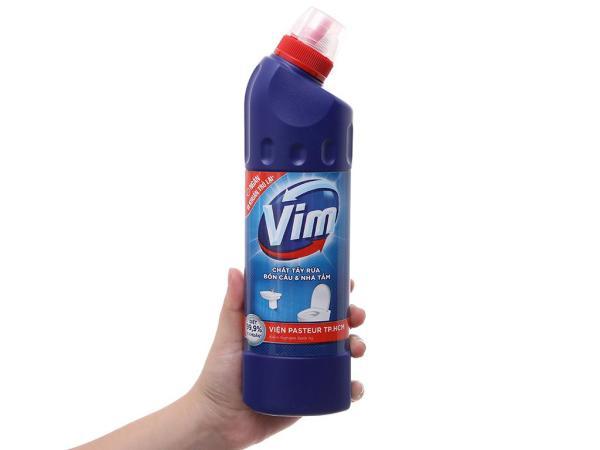Nước tẩy bồn cầu & nhà tắm VIM diệt khuẩn 500ml