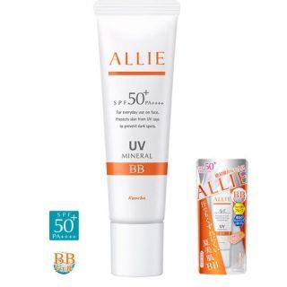 Kem nền chống nắng đa tác dụng Kanebo Allie Extra UV Gel (Mineral BB) SPF 50+PA++++ 30g thumbnail