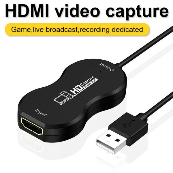 Bảng giá Bộ Chuyển Đổi Thẻ Ghi Hình Trò Chơi HDMI Sang USB2.0 Cho Máy Tính Xách Tay HDTV LCD TV HD 1080P Video Bộ Chuyển Đổi Cáp, Chụp Thẻ Phong Vũ