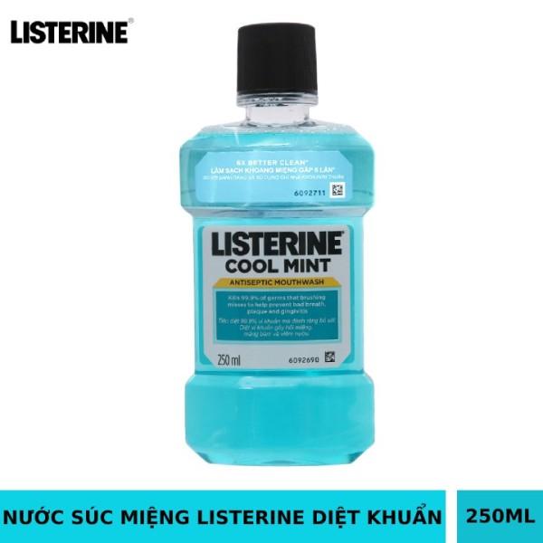 Nước súc miệng LISTERINE nhập khẩu Thailand 250ml